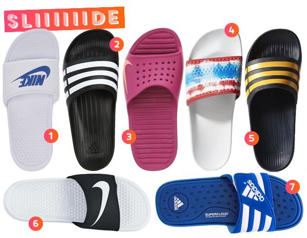Resultado de imagem para como usar sandalia slide