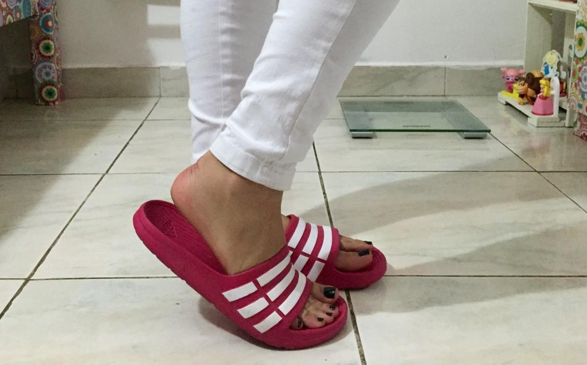 #Resenha - Slide Adidas Duramo