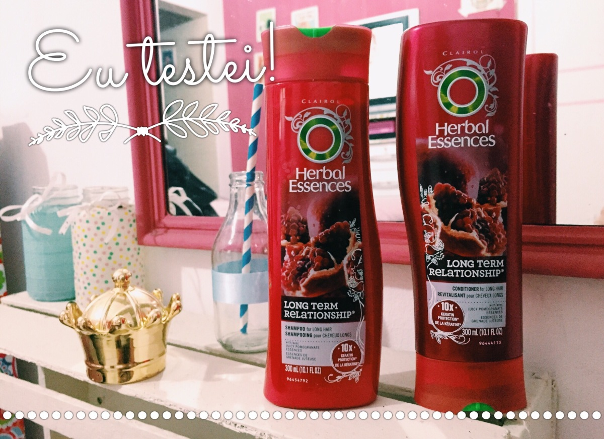 #Resenha - Shampoo Herbal Essences - Long Term Relationship