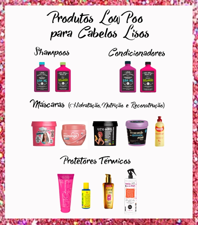 produtos LOW POO